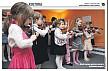 Pierwszy koncert młodych skrzypków