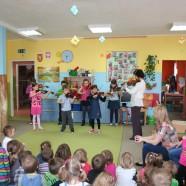 """Muzyczna Wizyta w przedszkolu """"U Kubusia Puchatka"""""""