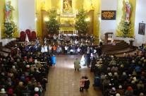 Kolędowanie w Kościele NMP Matki Miłosierdzia w Oleśnicy