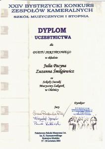 Dyplom Bystrzyca 2015.2